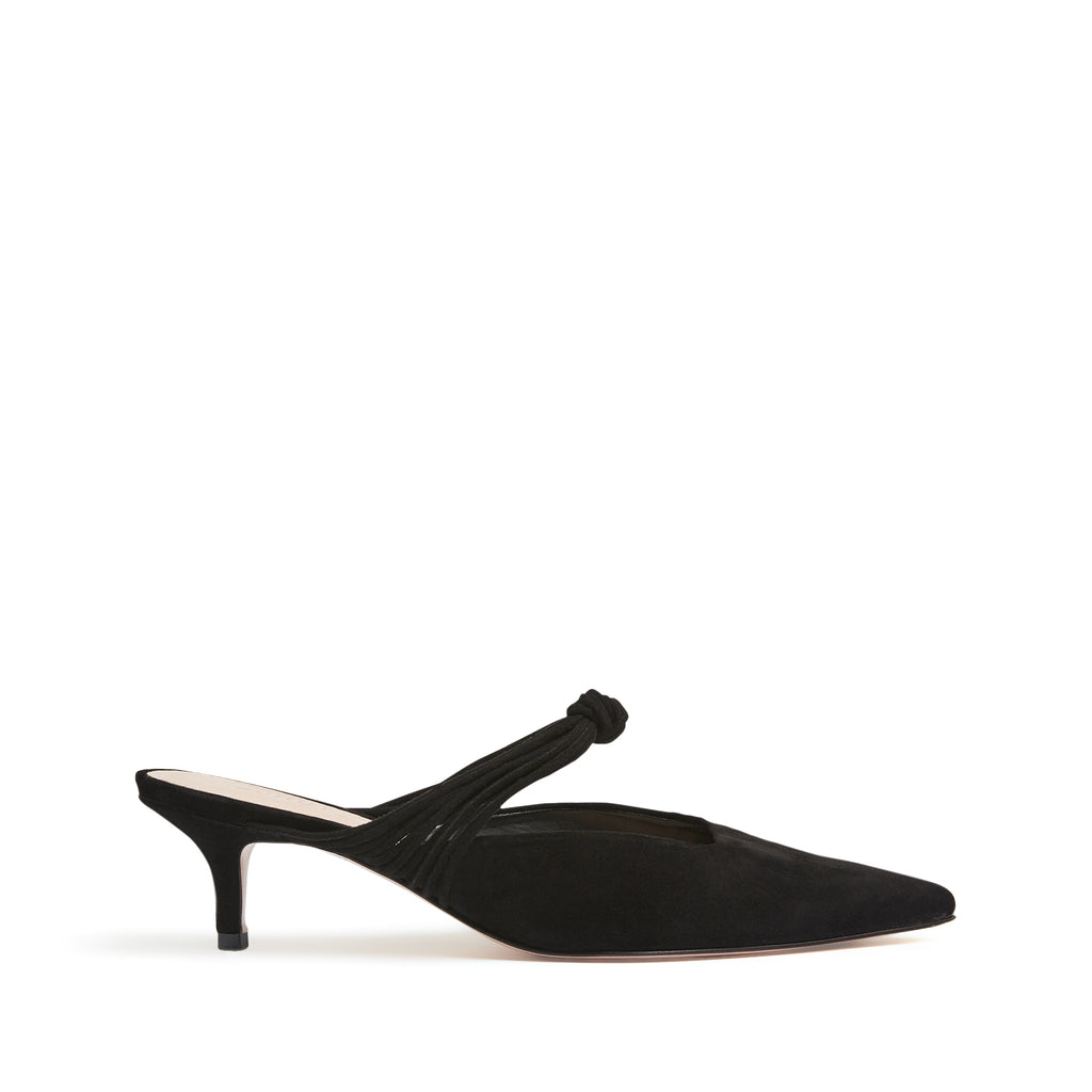 Lohan Mule in Black