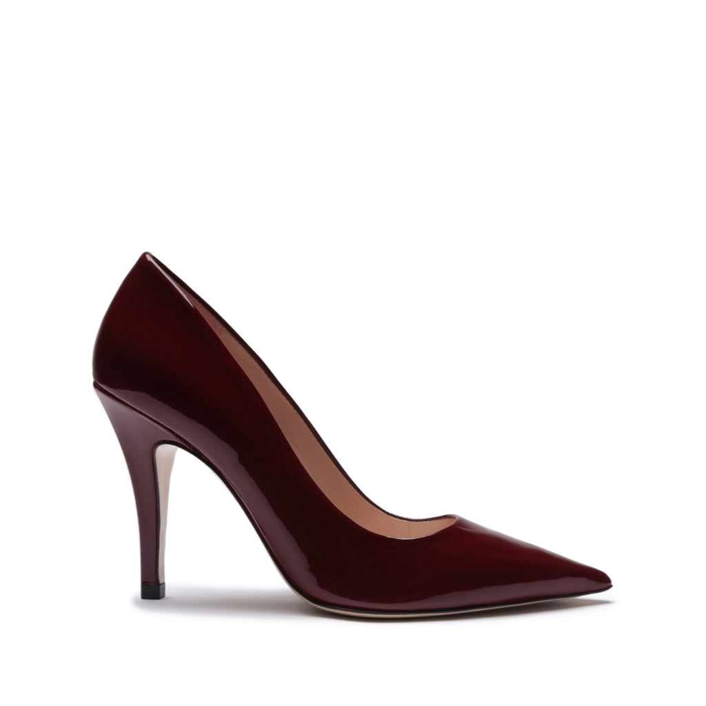 Lyan Pump in Burgundy