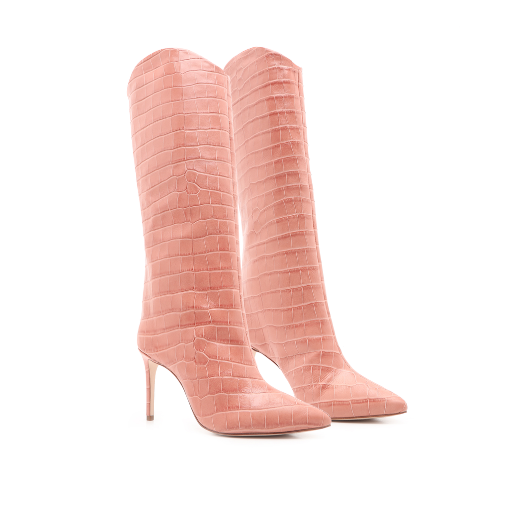 Maryana Boot in Quartz Pink