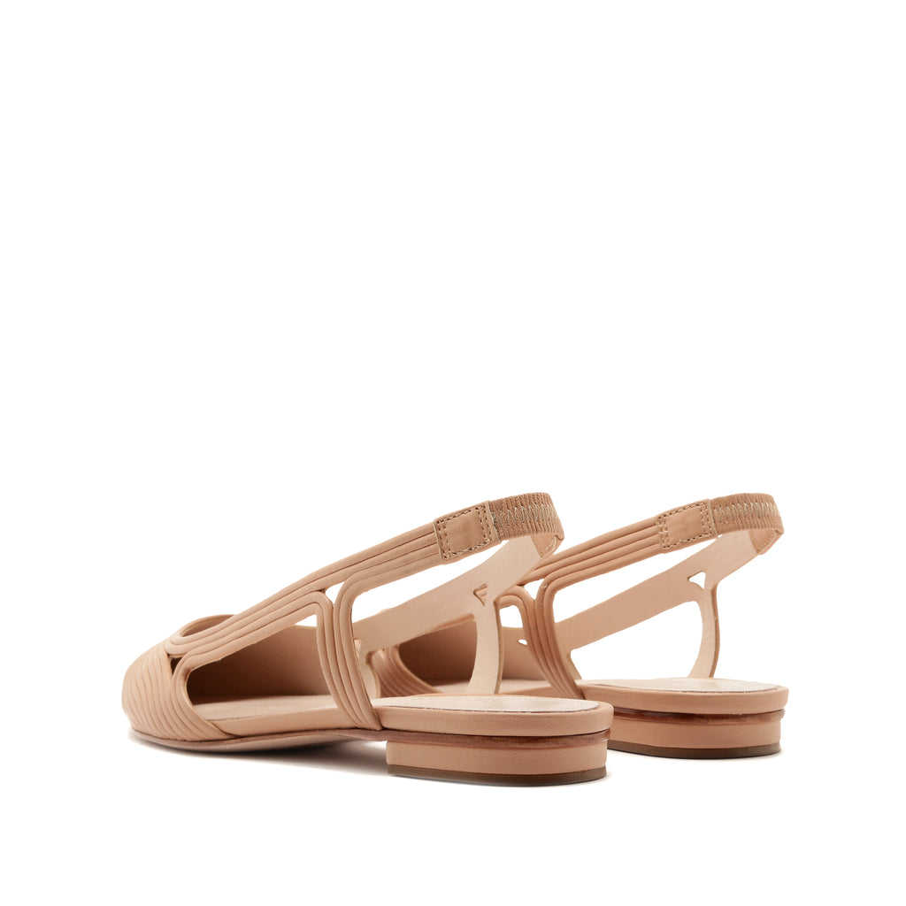 Melaine Flat in Honey Beige