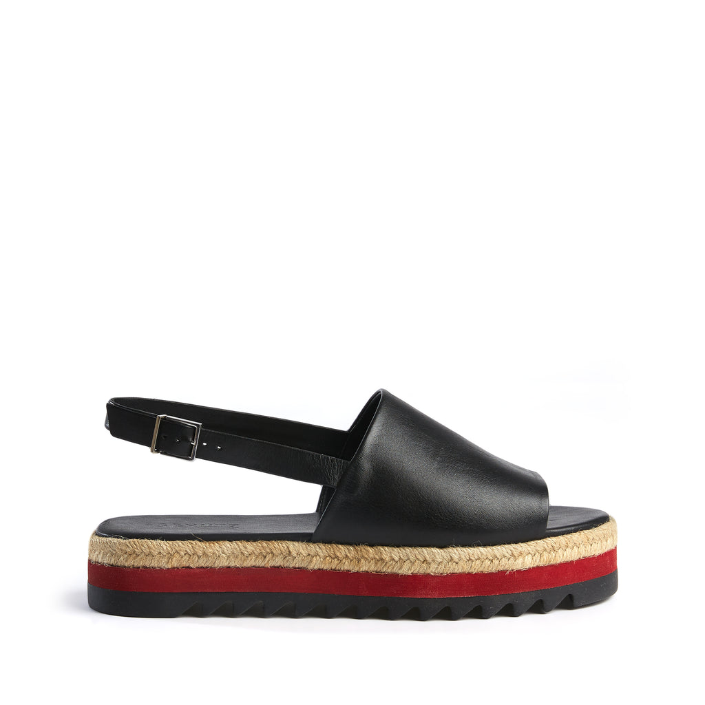 Mira Sandal in Black