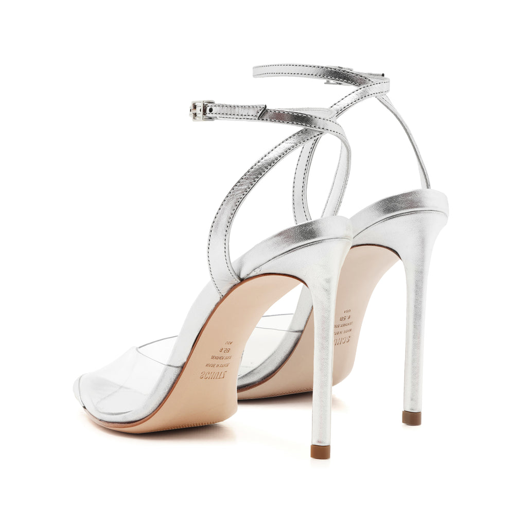 Monaly Pump in Silver