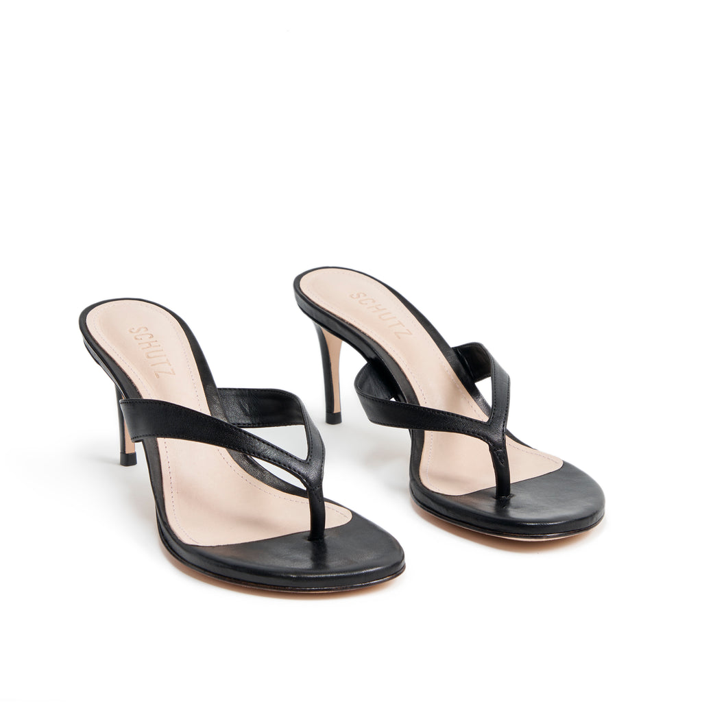 Napola Sandal in Black
