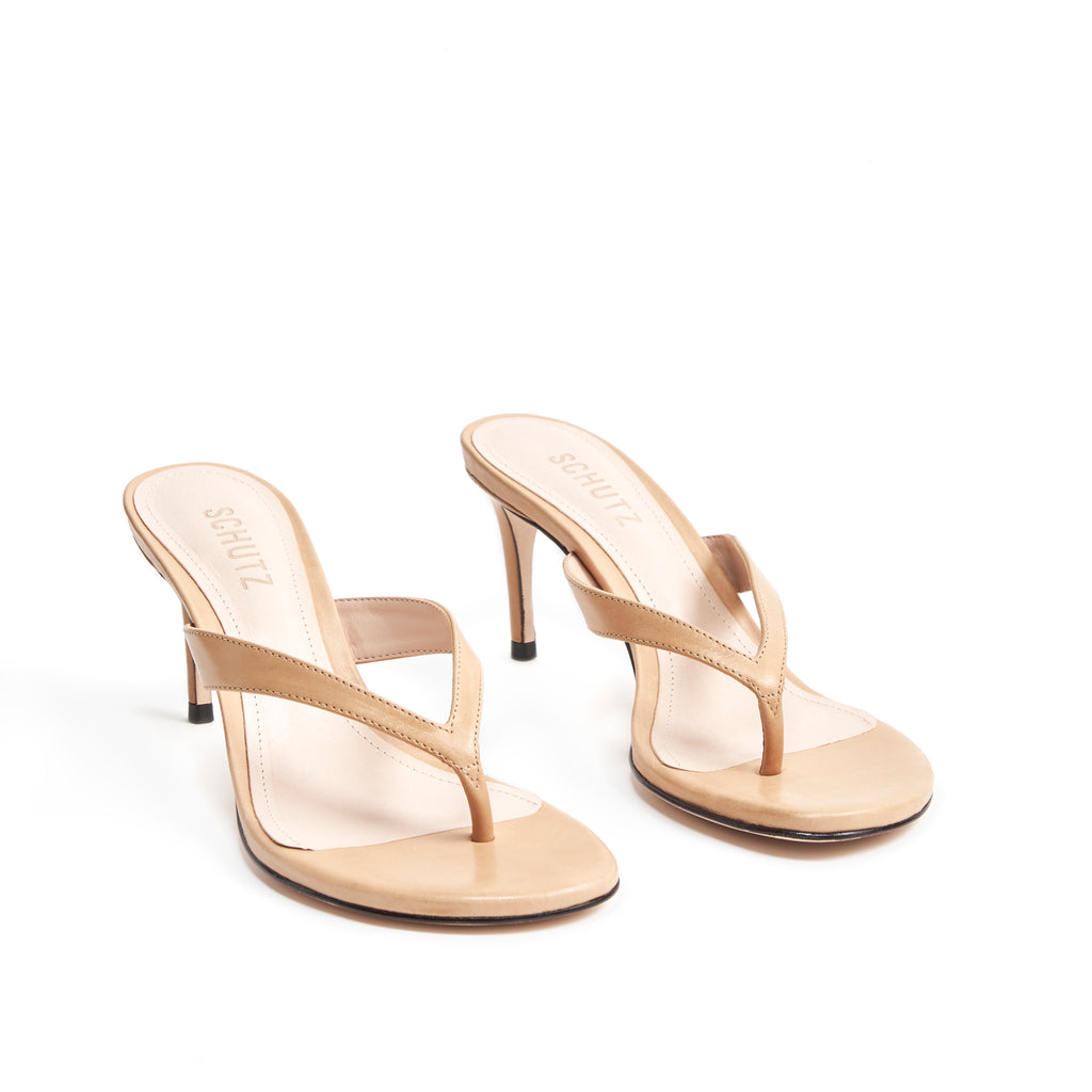 Napola Sandal in Honey Beige