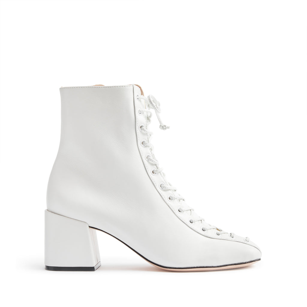 New Kika Bootie in White