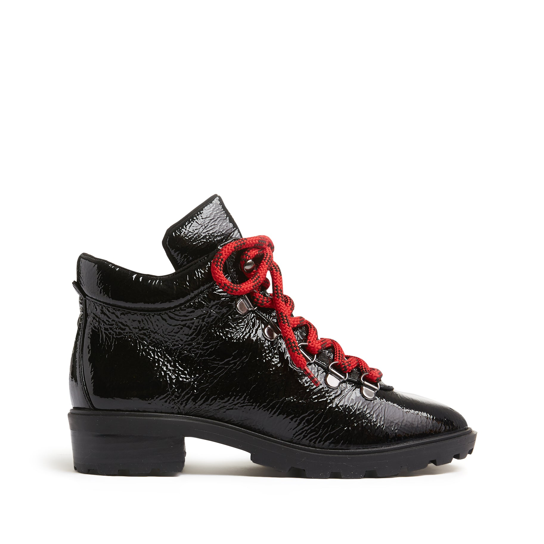 Niceia Booties Black Patent Leather