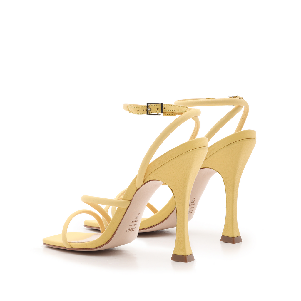 Polaina Sandal in New Yellow