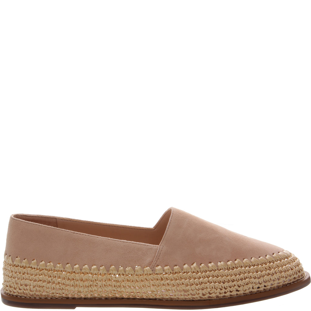 Queenie Flat in Honey Beige