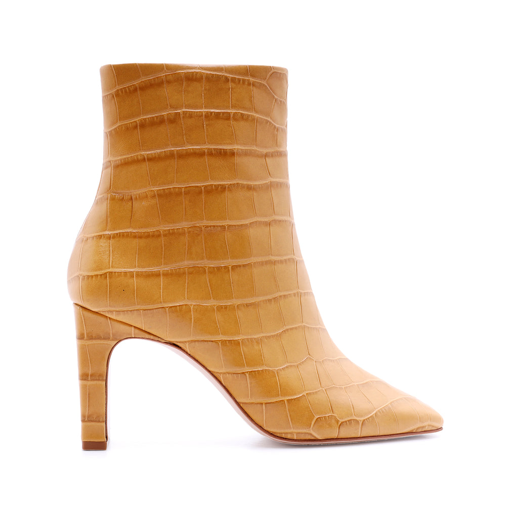 Marion Bootie in Straw