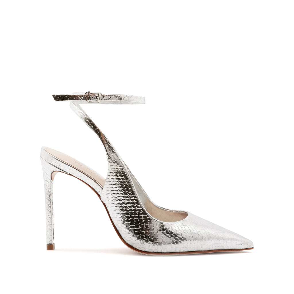 Rosala Pump in Silver