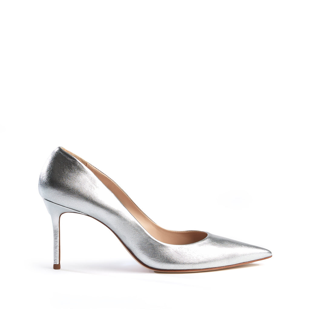 Rosie Pump in Prata Silver