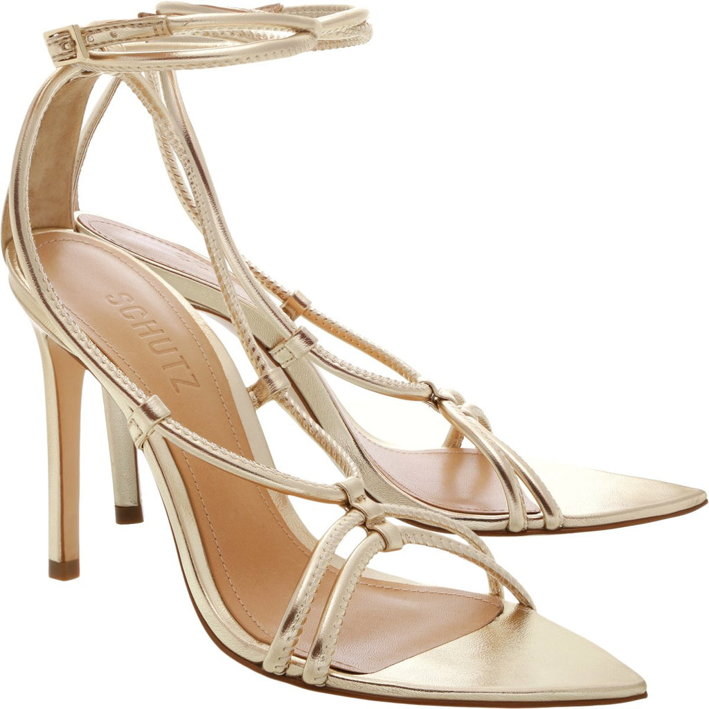 Evellyn Sandal in Platina Gold