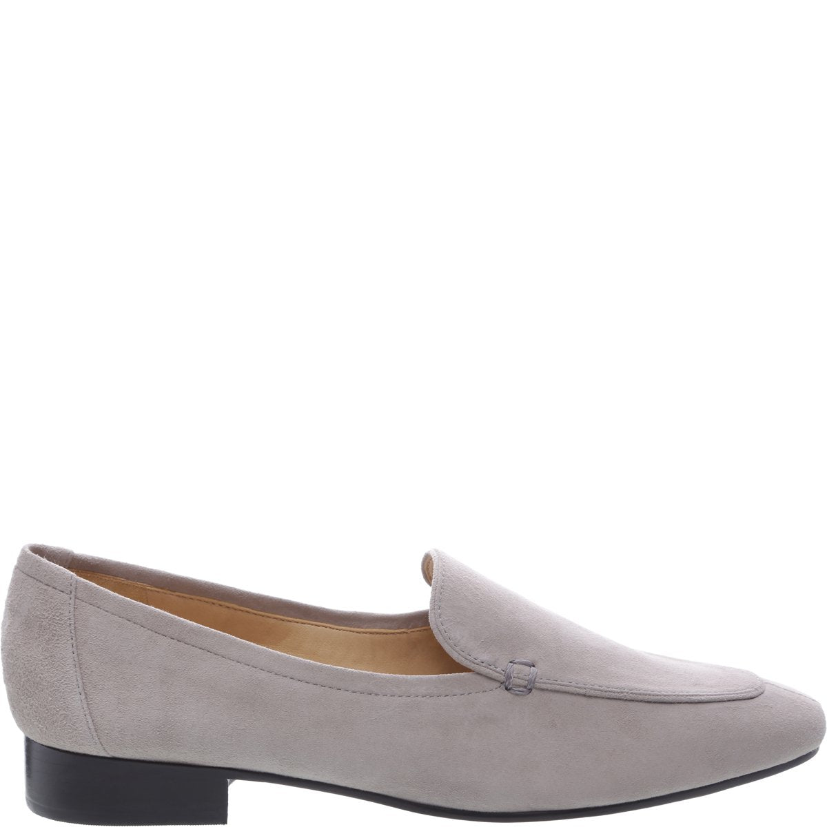 Shania Loafer Flat - Mouse Grey Suede