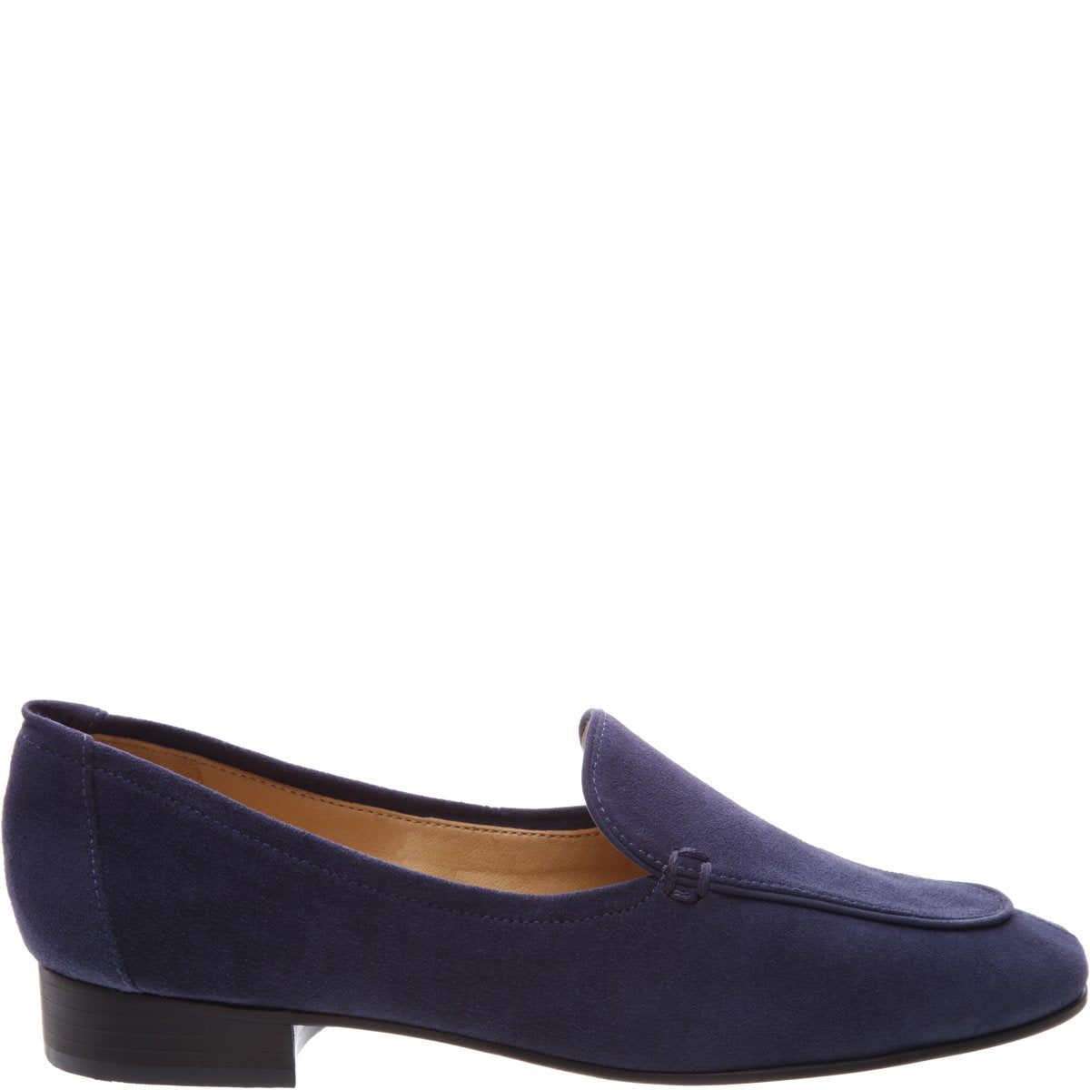 Shania Loafer Flat - Sailfish Blue Suede