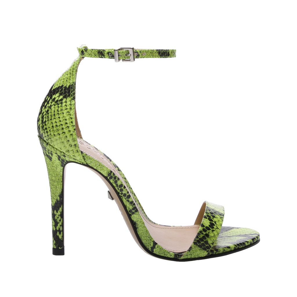 Cadey-Lee Sandal in Neon Yellow