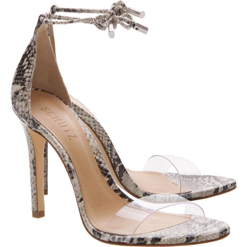 Josseana Sandal in Natural Snake
