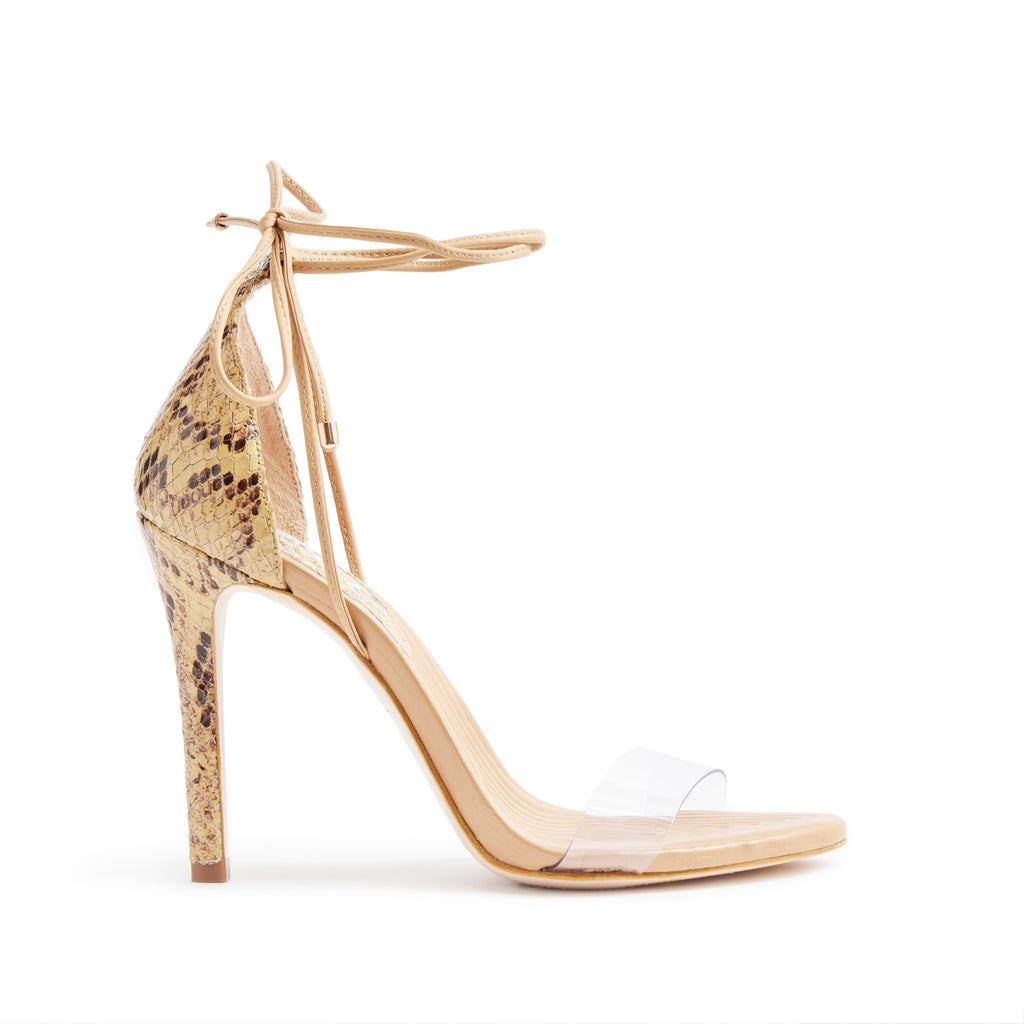 Kanisha Sandal in Bisque Snake