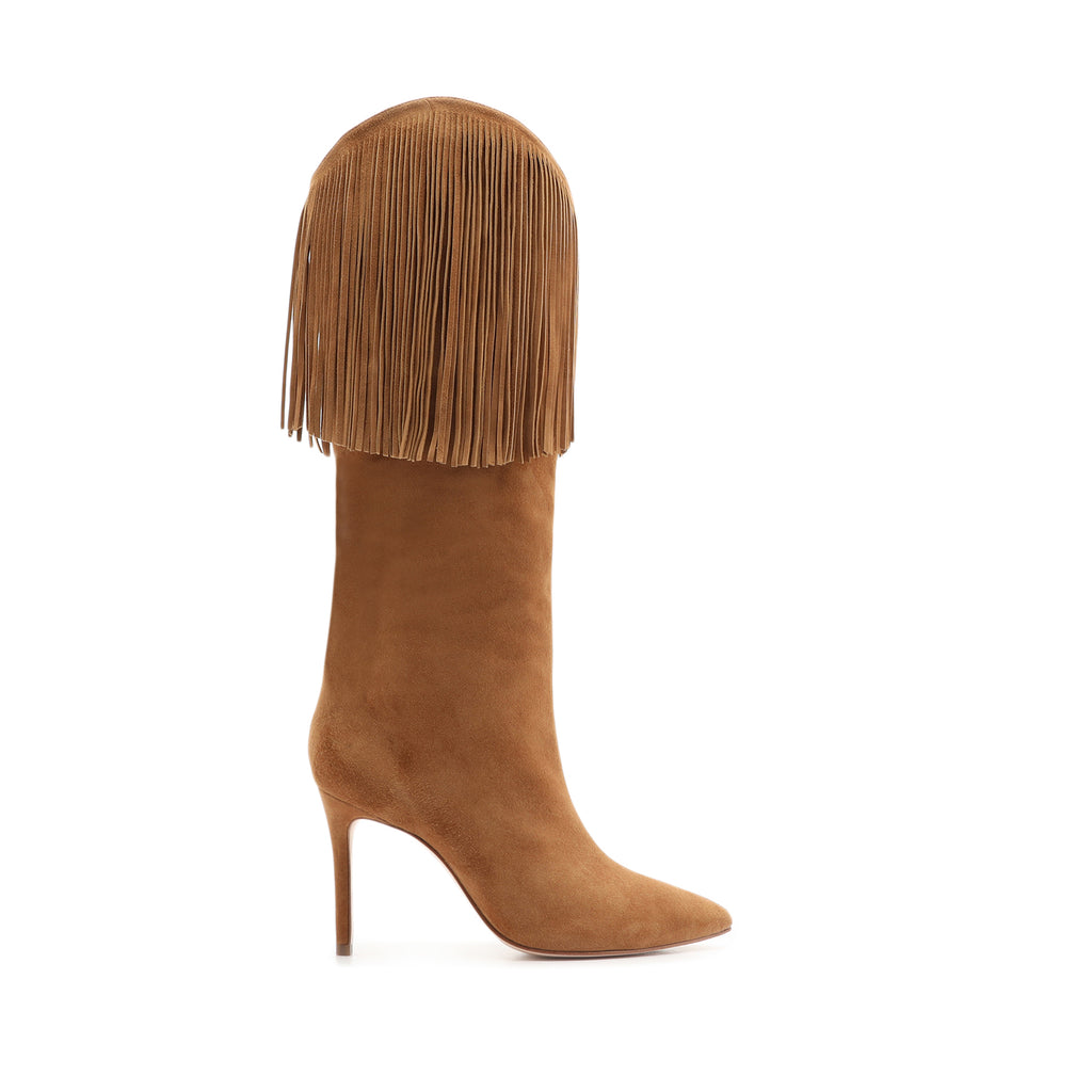 Monalise Suede Boot in Hazel