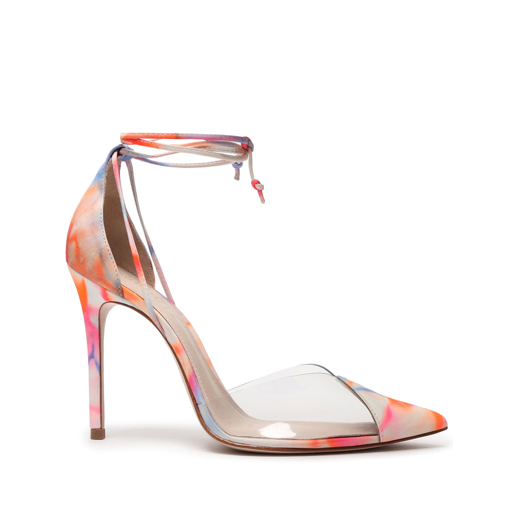 Vanuza Tie-Dye Vinyl Pump in Multi