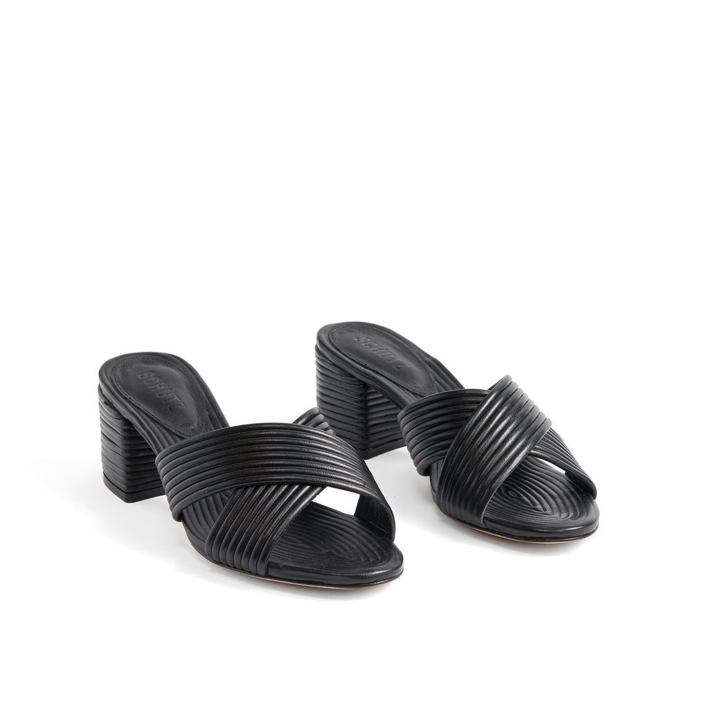 Ana Kate Sandal in Black