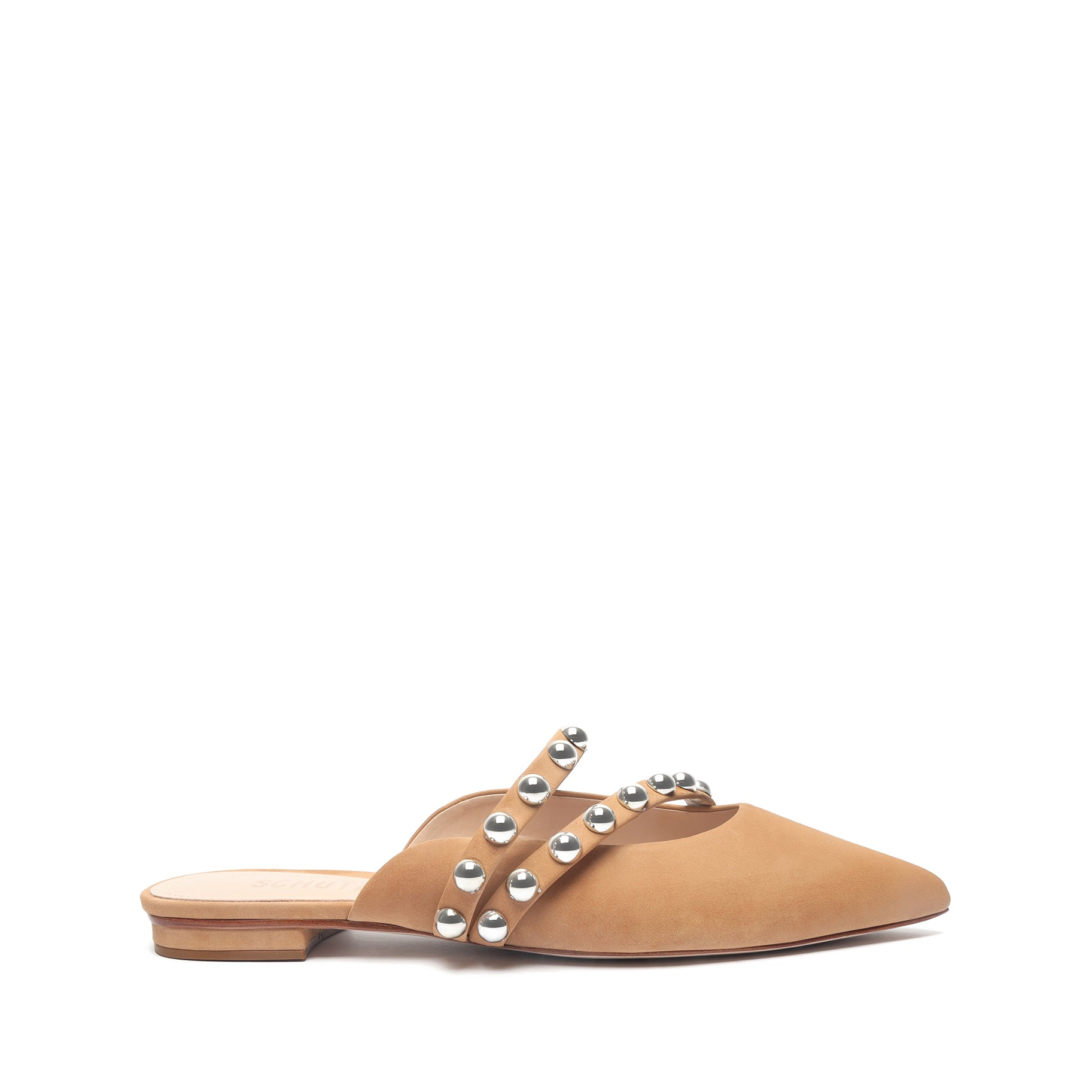 Jacklyn Leather Flat
