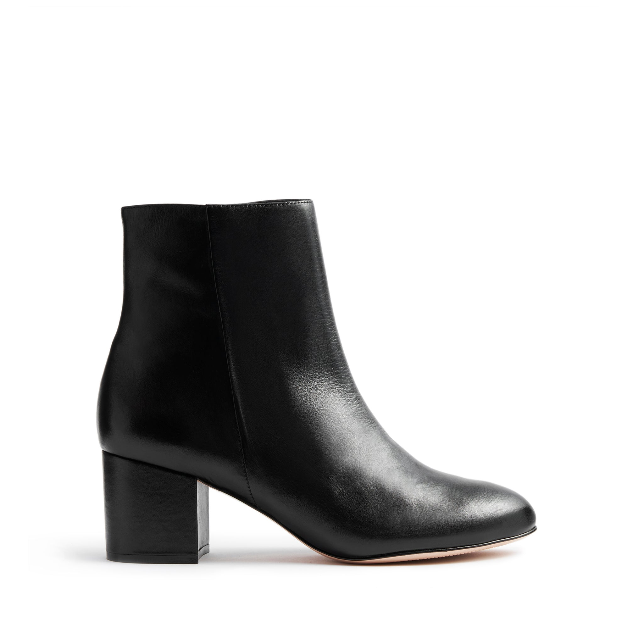 Lupe Booties Black Leather