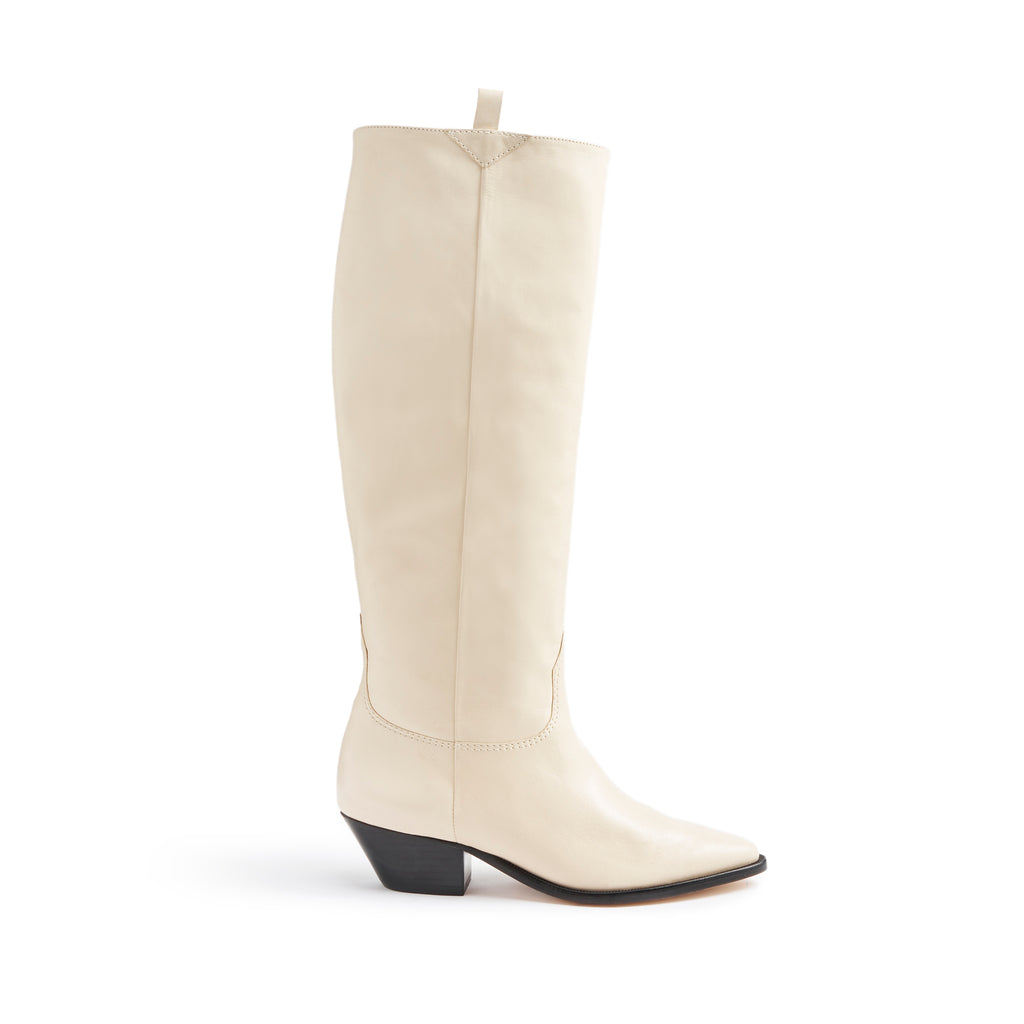 Hileni Boot in Eggshell