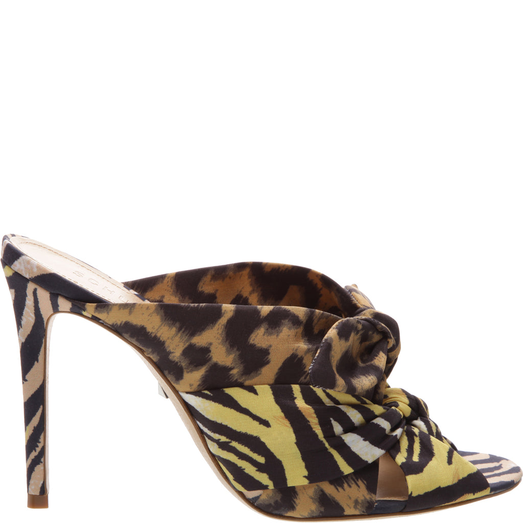 39bd5c814 Yma High Heel Mule in Leopard Print | Schutz Shoes – SCHUTZ