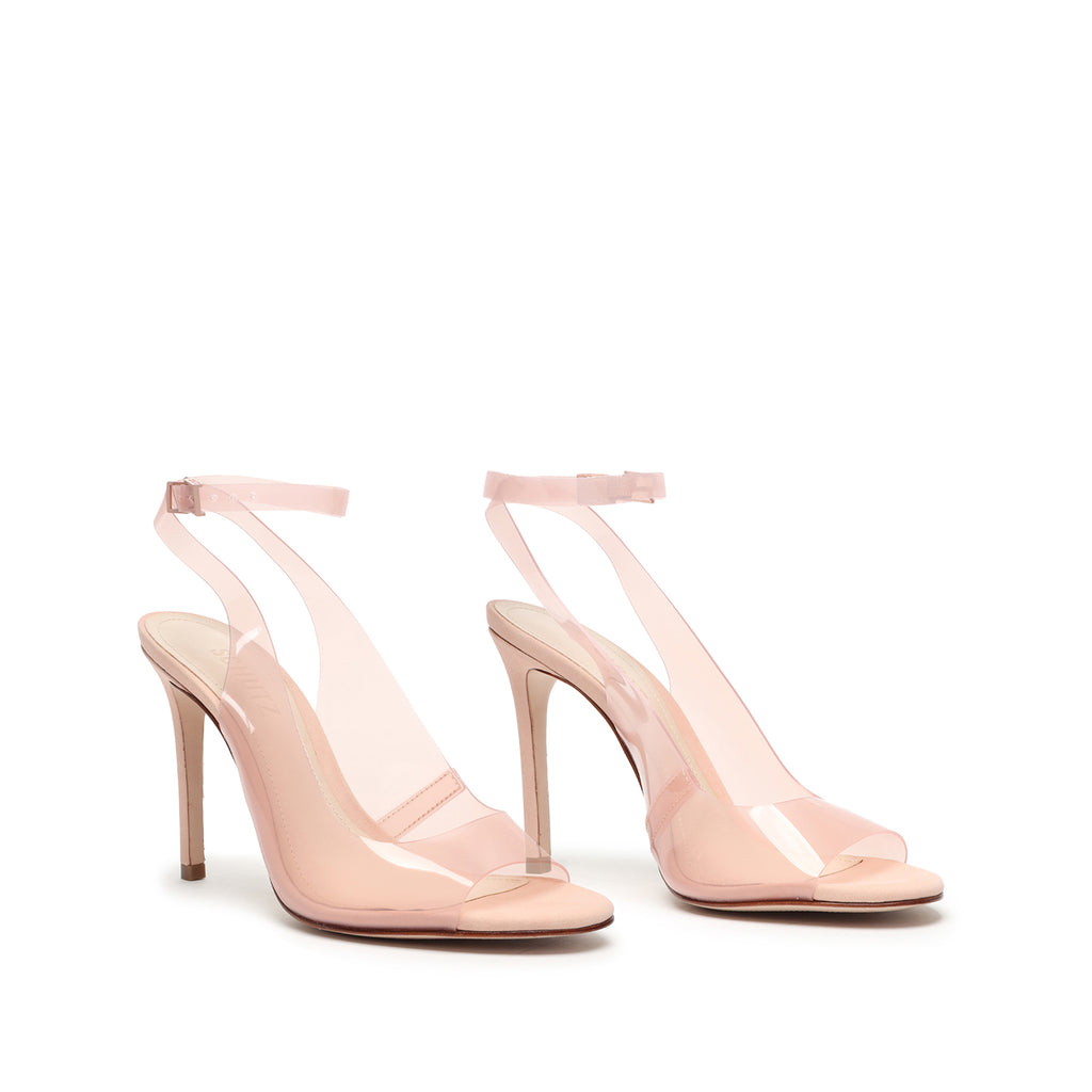 Eryka Vinyl & Leather Sandal in Eryka Vinyl & Leather Sandal