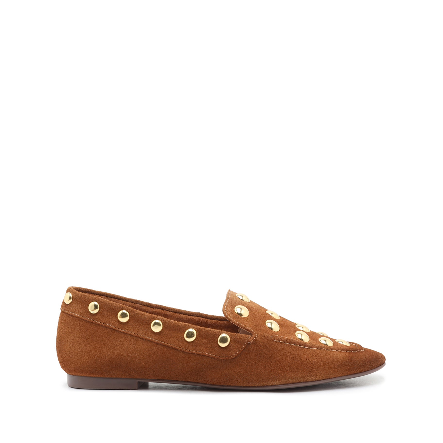 Laurie Studded Suede Loafer