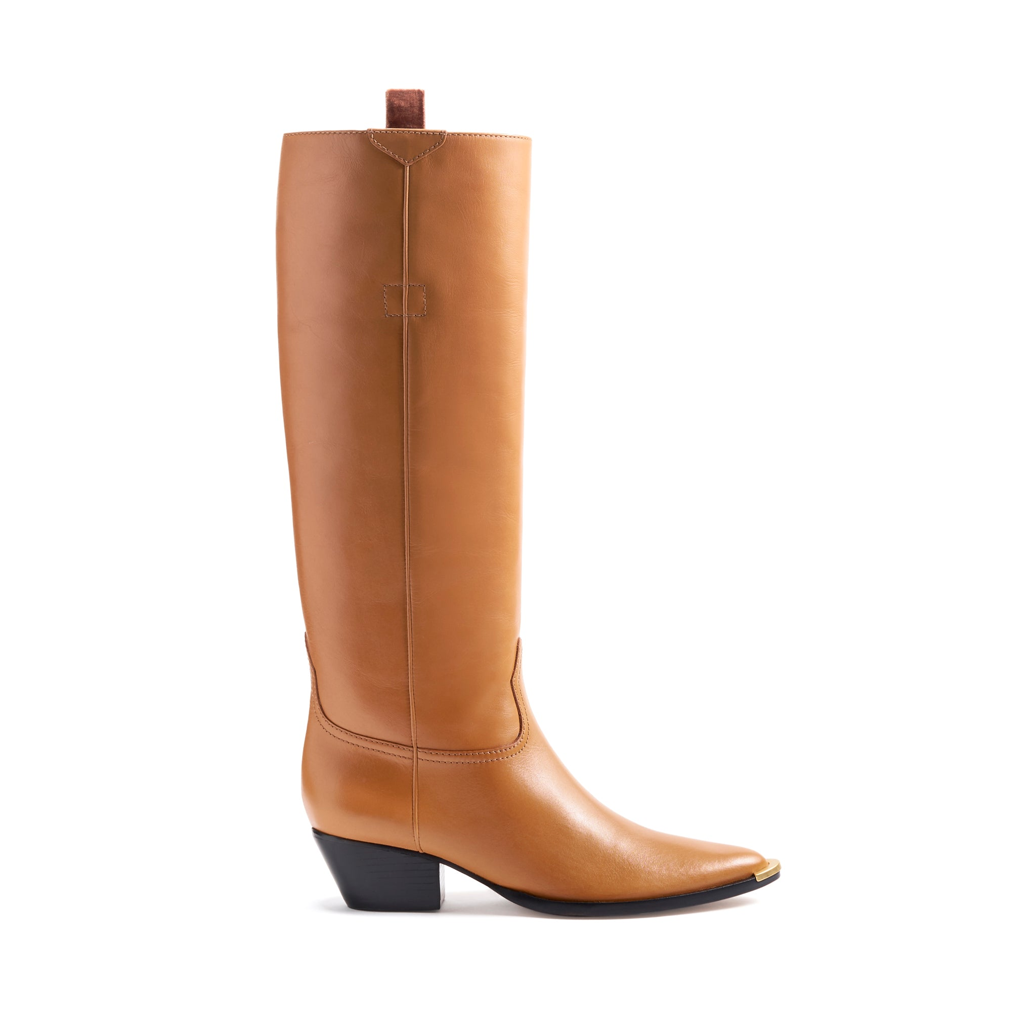 Stacy Boots Cammelo Leather