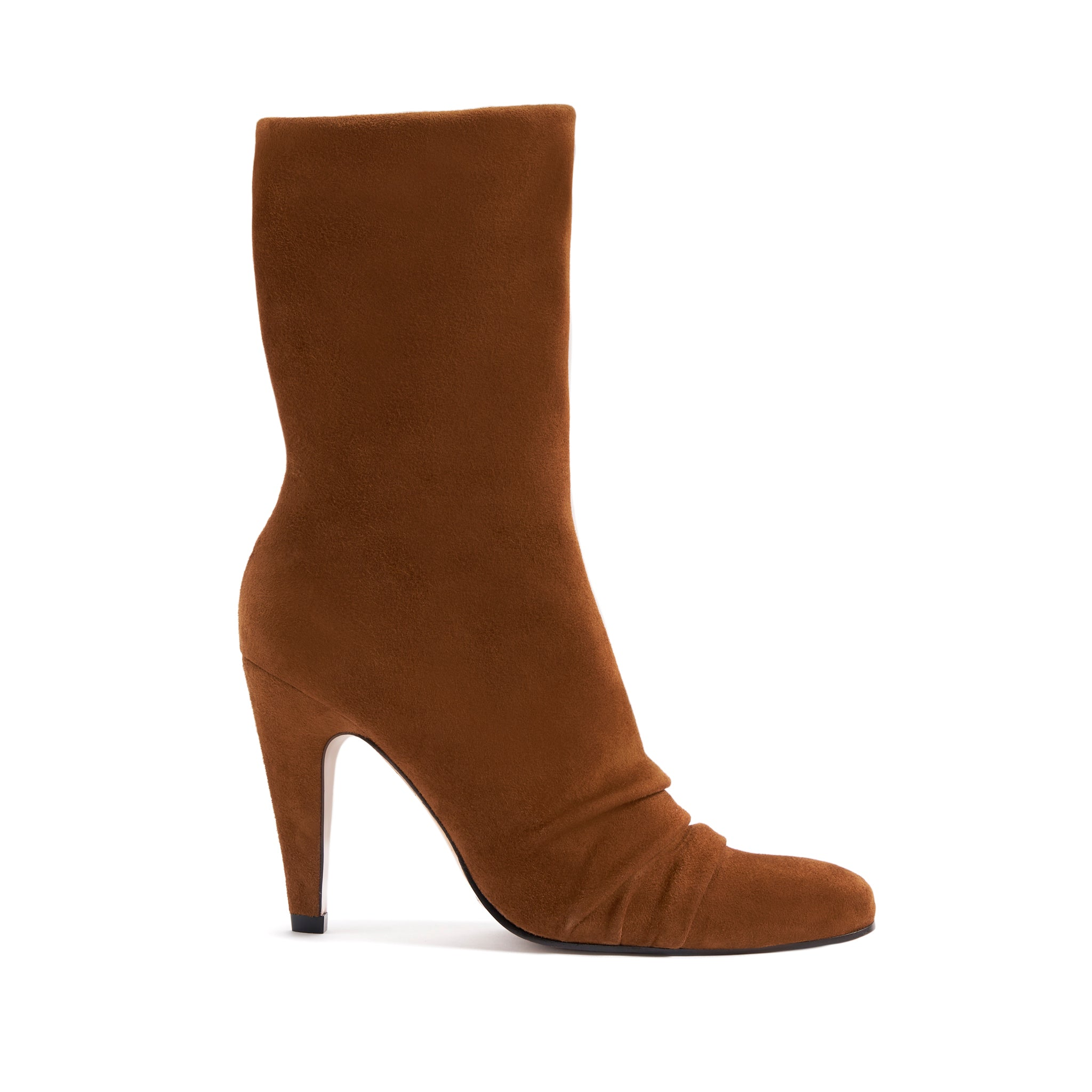 Alicie Booties Cuoio Suede