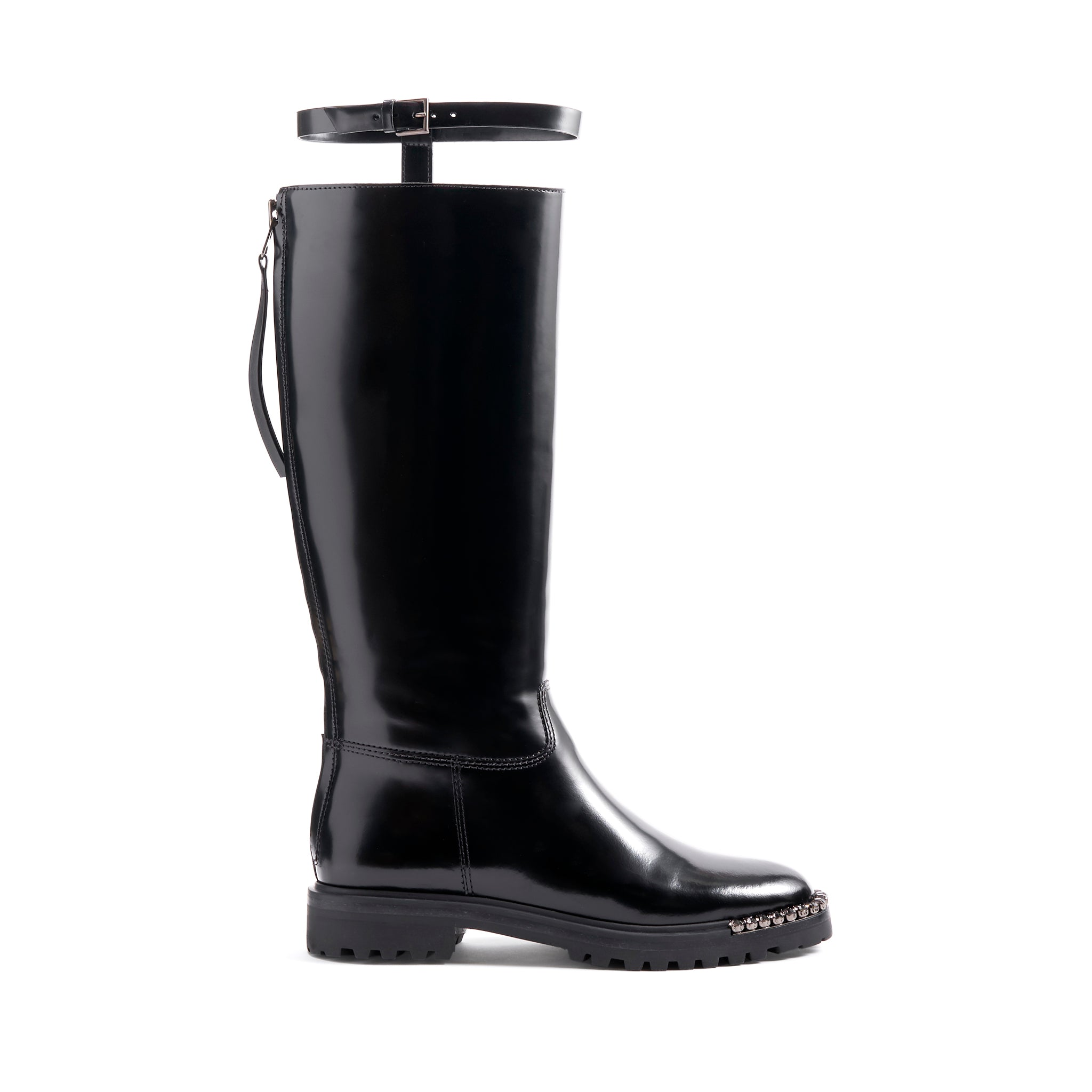 Cianna Boots Black Leather