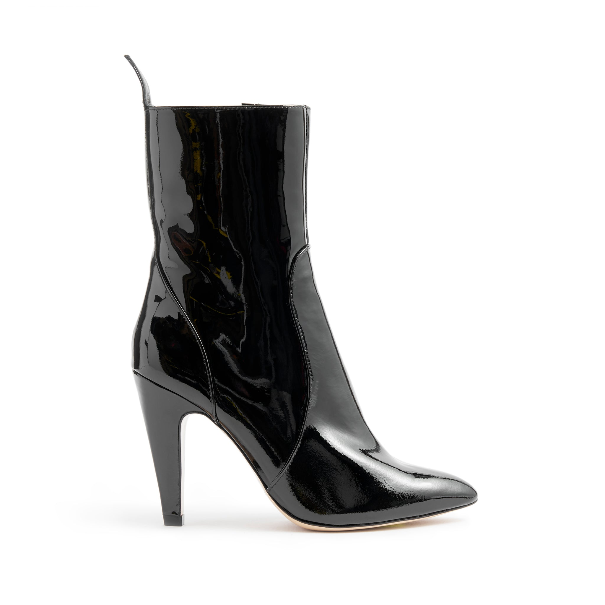 Kaila Booties Black Patent Leather