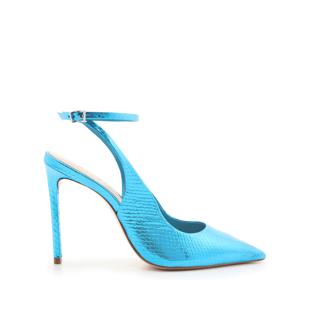 Rosala Pump in Azure