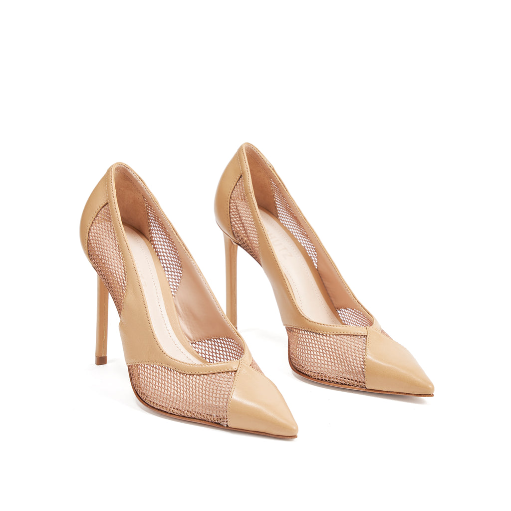 Aulany Pump in Honey Beige