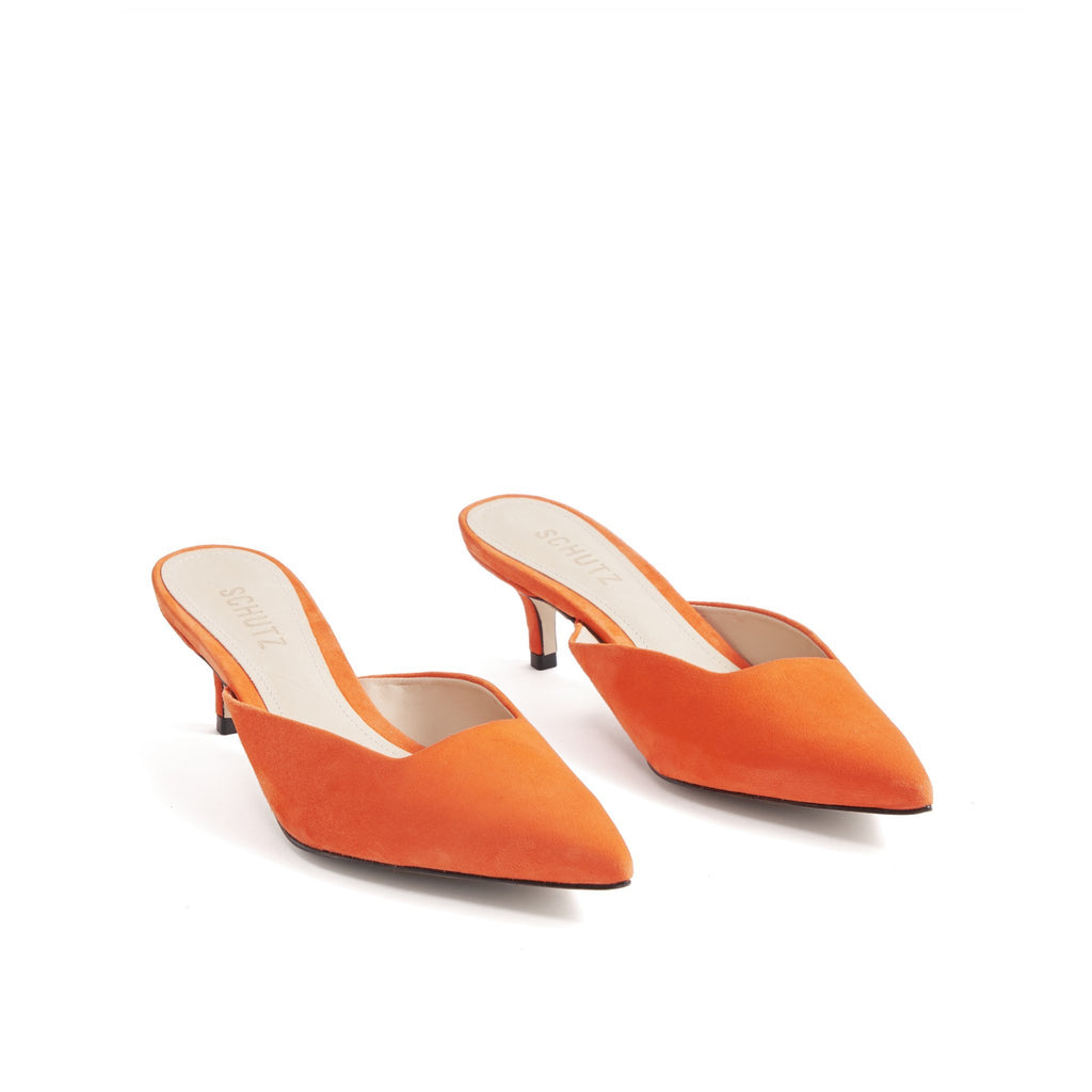 Danika Mule in Flame Orange
