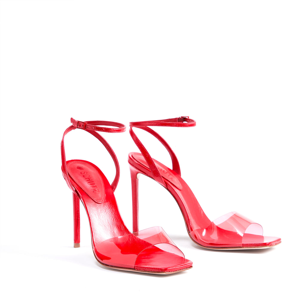 Jamili Sandal in Club Red