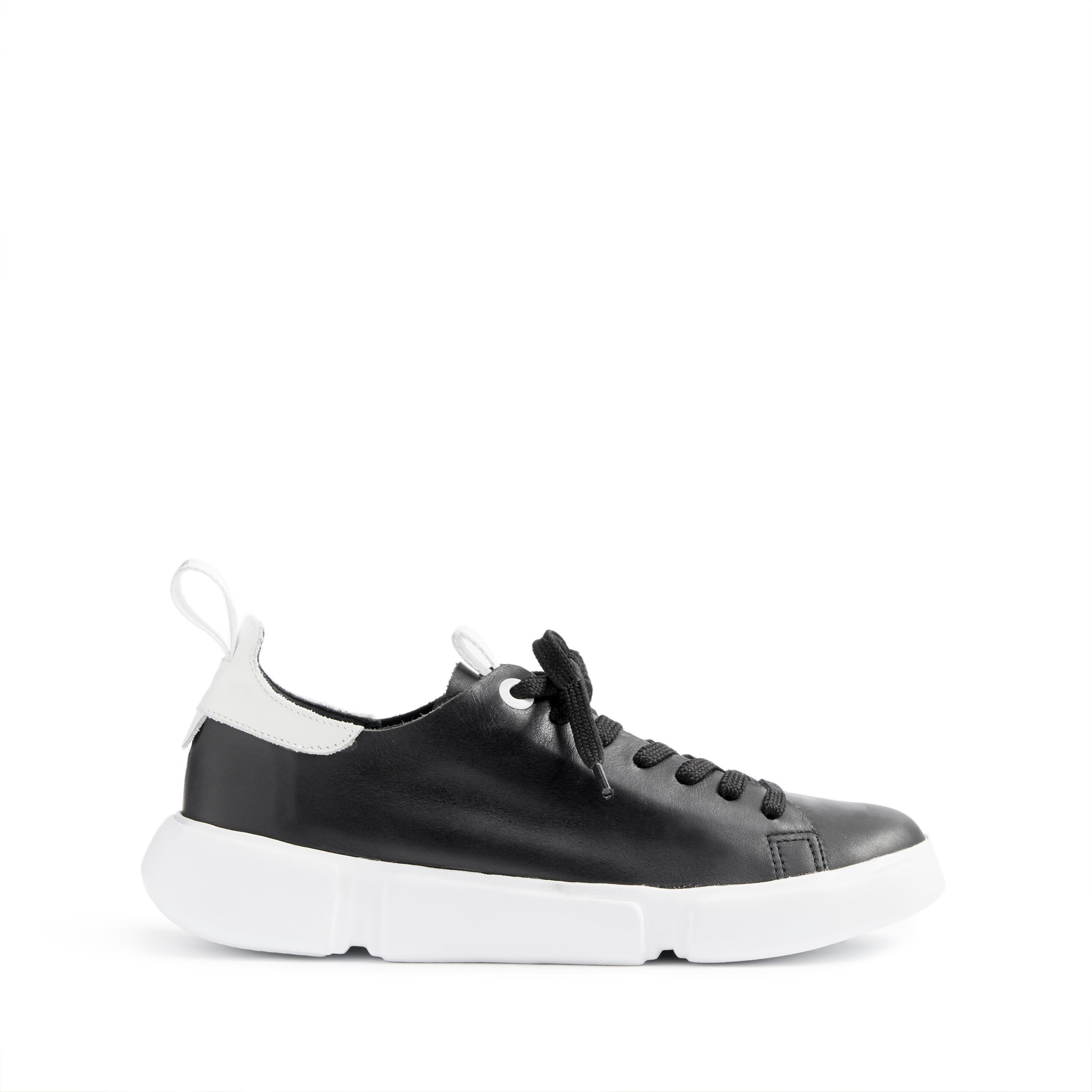 Cailey Sneakers Black Leather