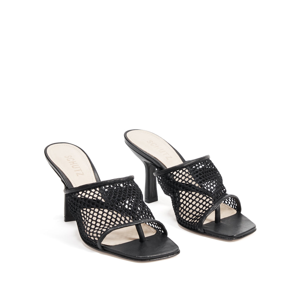 Siliene Sandal in Black