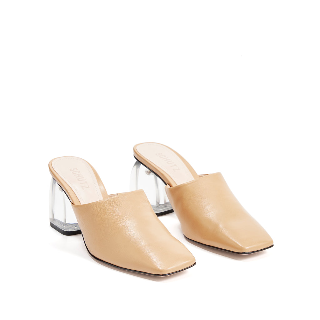 Dezire Mule in Honey Beige