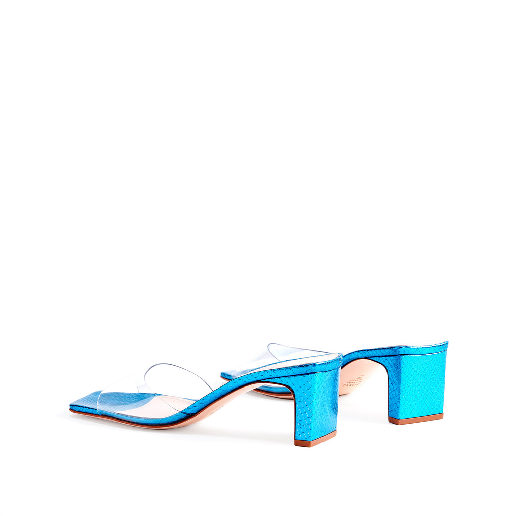 Onoria Sandal in Azure