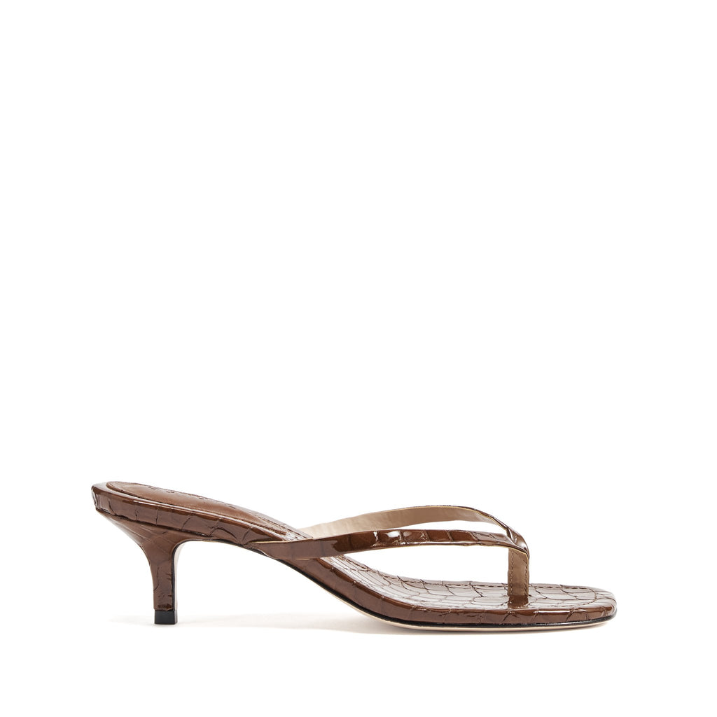 Ivone Sandal in Walnut