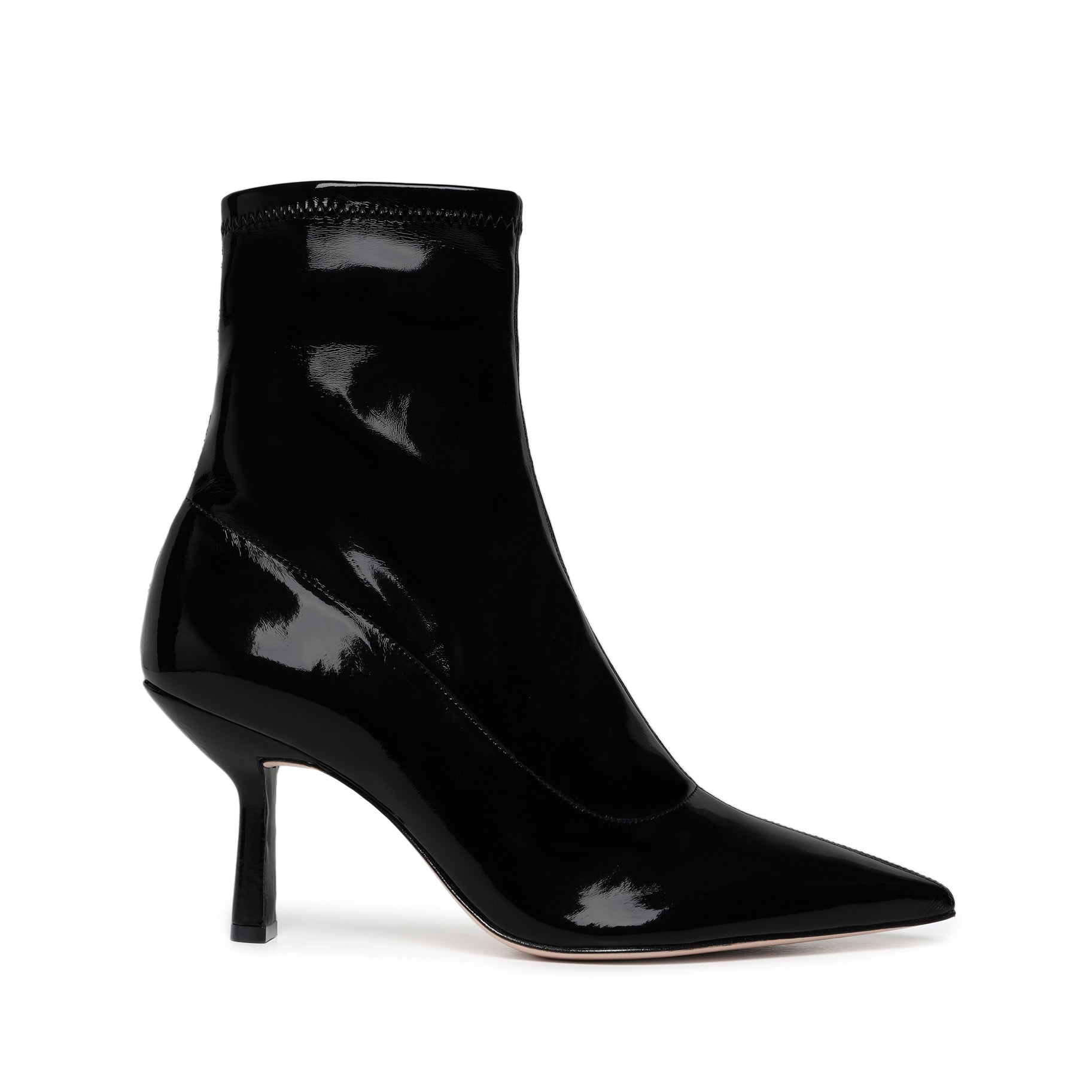 Charleni Patent Leather Bootie