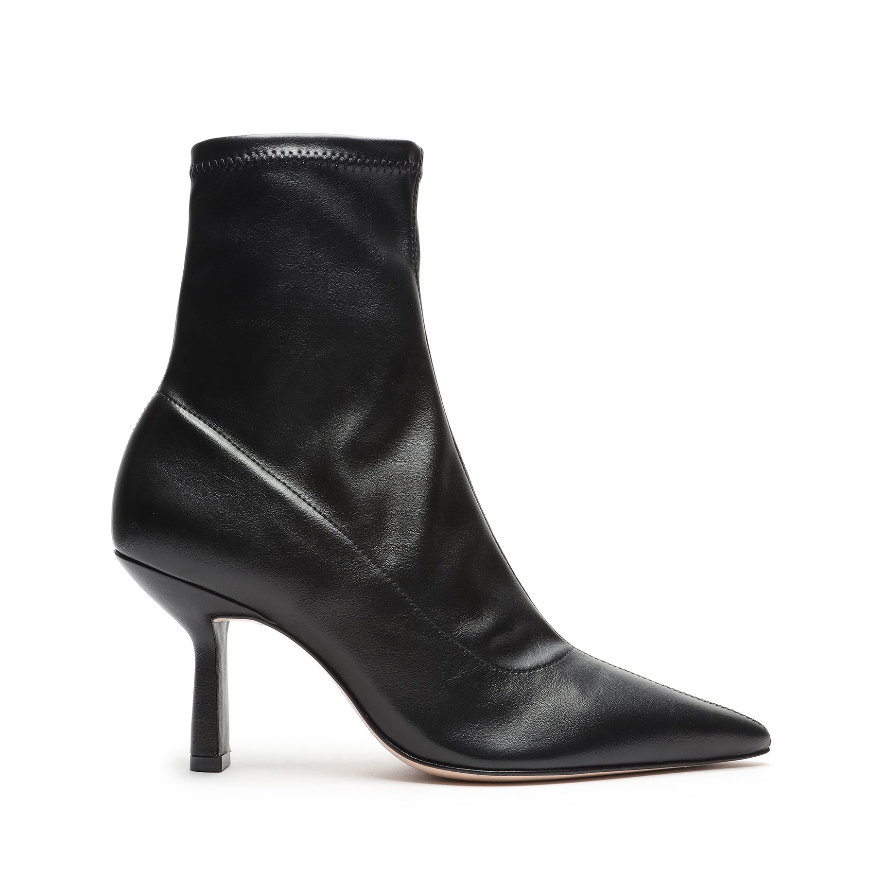 Charleni Stretch Leather Bootie