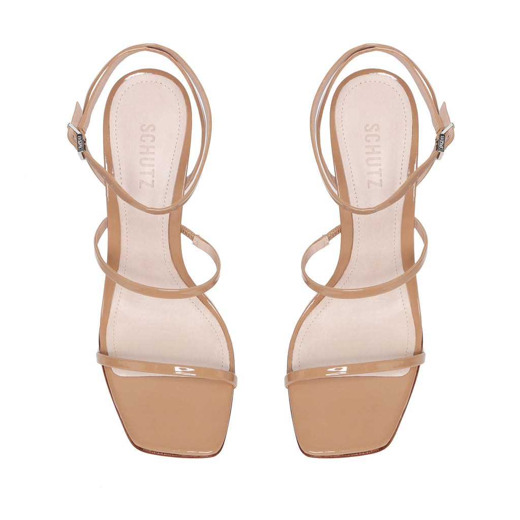 Nita Sandal in Honey Beige