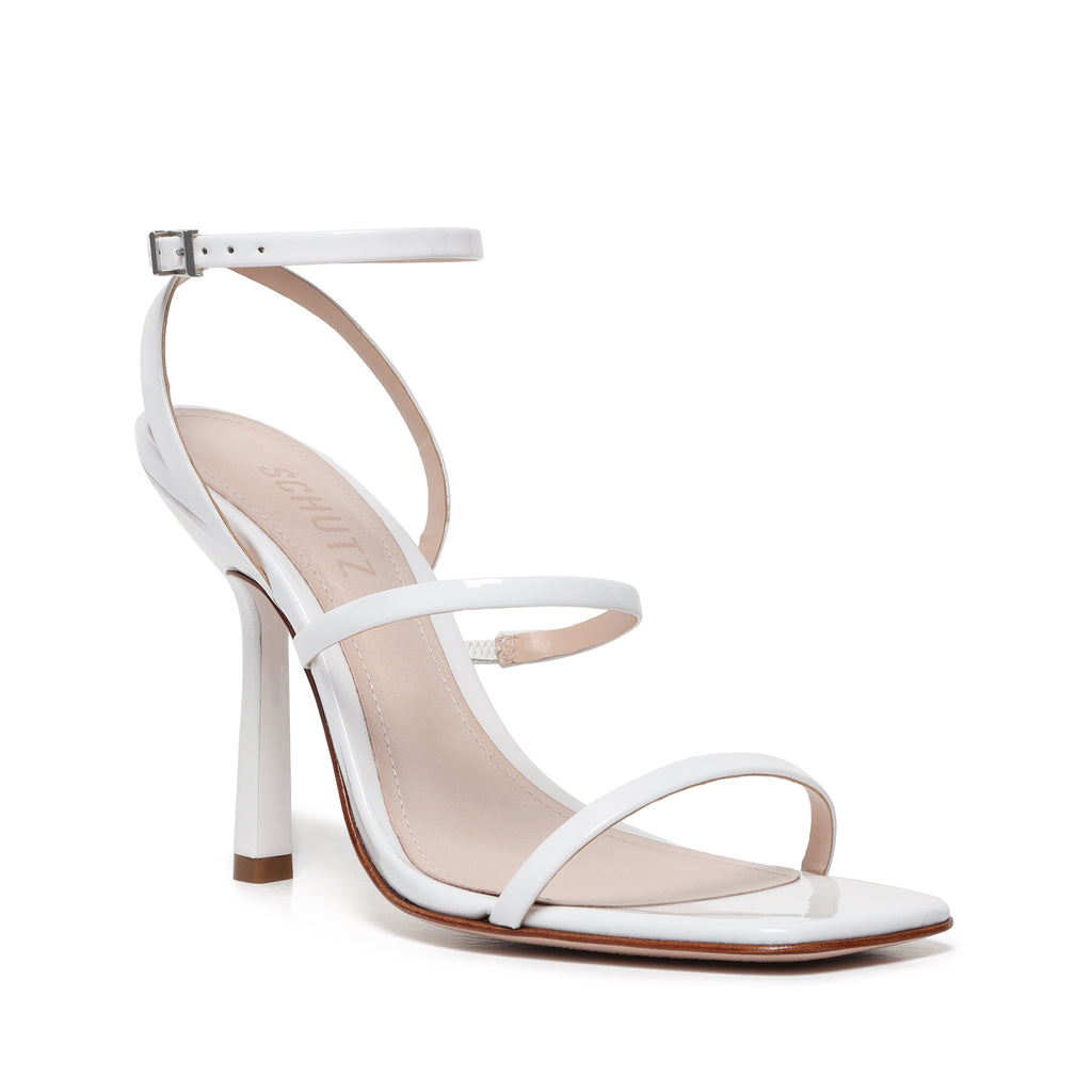 Nita Sandal in White