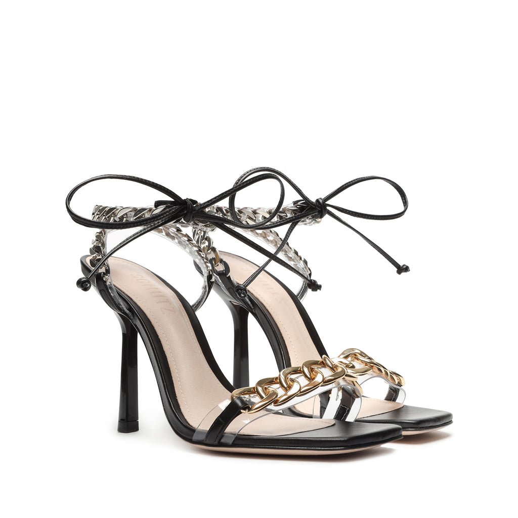 Clelia Sandal in Black