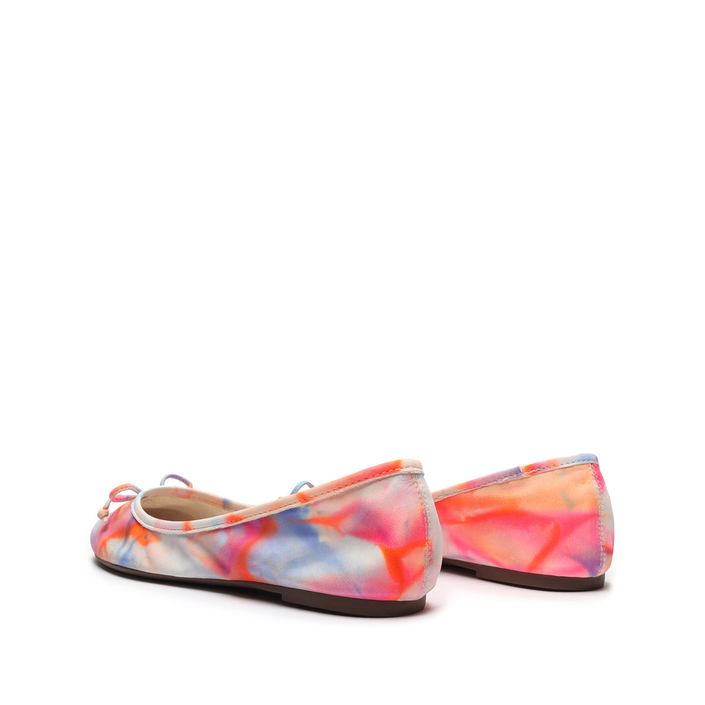 Damaris Tie-Dye Ballet Flat in Multi