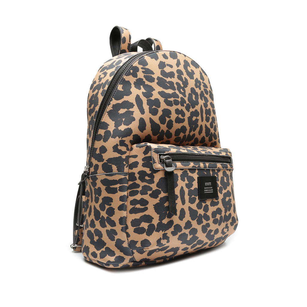 Neoprene Backpack in Leopard